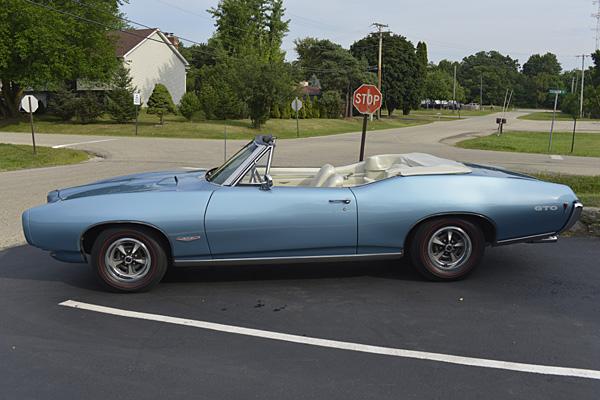 68 Gto Conv Muscle Car And Classic Auto Restoration