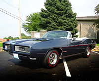 1968 GTO Convertible completed restoration